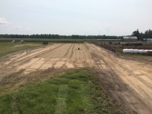 Lot clearning completed by Antler's Well Drilling